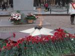 Возлажение цветов в память годовщины  Битвы под Москвой